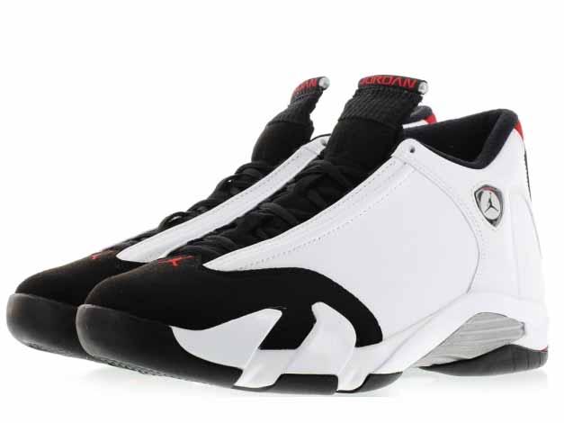 6eacce3a1d8 Is the NIKE AIR JORDAN 14 RETRO [Black Toe]. Used white leather upper, Saul  Jordan car