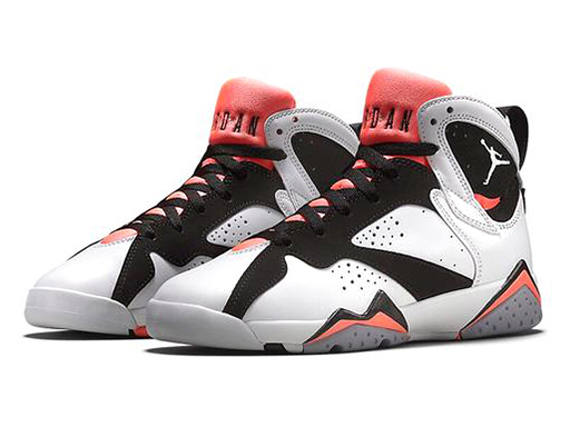 54d5d217c0f5 NIKE AIR JORDAN 7 RETRO GG GS-LAVA WHITE BLACK-HOT Nike Air Jordan 7 retro  GG (GS) hot lava