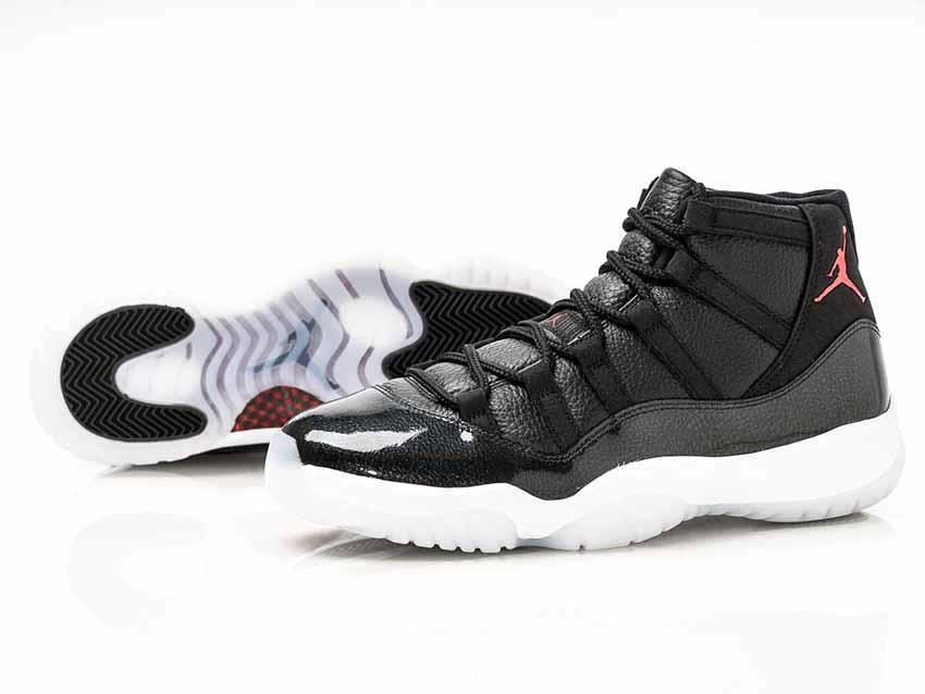 sale retailer a0e6f 4e484 NIKE AIR JORDAN 11 RETRO BLACK/GYM RED-WHITE-ANTHRACITE Nike Air Jordan 11  retro black red white