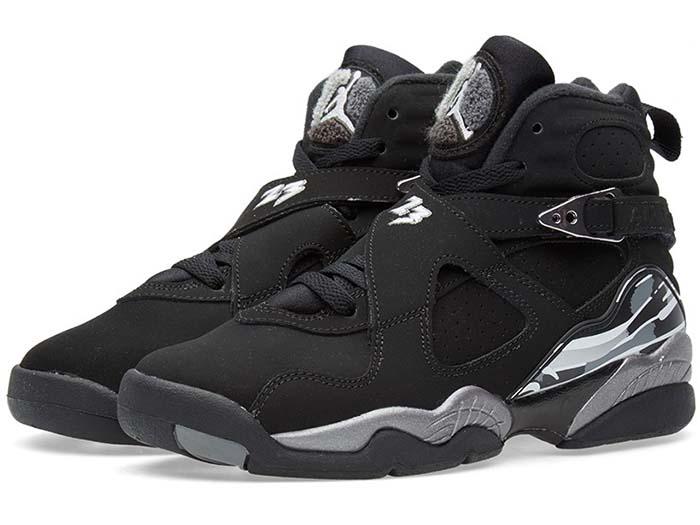 uk availability aa462 2ba23 NIKE AIR JORDAN 8 RETRO BG GS-Nike Air Jordan 8 retro BG black