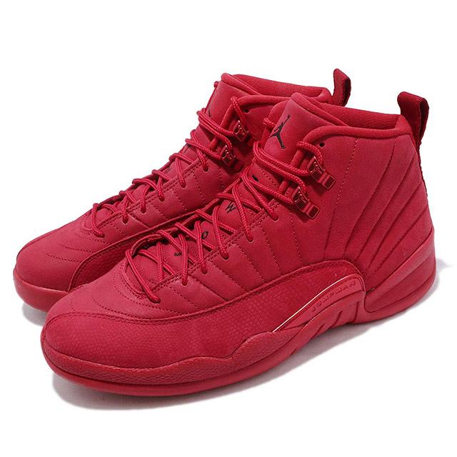 outlet store f59d8 14788 NIKE AIR JORDAN 12 RETRO BULLS TORO Air Jordan 12 nostalgic Bulls men  basketball shoes GYM RED/BLACK-GYM RED 19-1-312