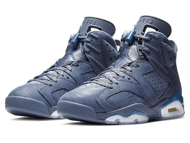 NIKE AIR JORDAN 6 RETROナイキ エアジョーダン 6 レトロ VI メンズ バスケットボール シューズDIFFUSED BLUE/COURT BLUE19-1-317
