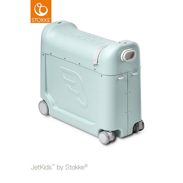 【ストッケ正規販売店】ジェットキッズ バイ ストッケ ライドボックス / グリーン JETKIDS™ BY STOKKE®【ジェットキッズ】【旅行 キッズ】【スーツケース】【即納】