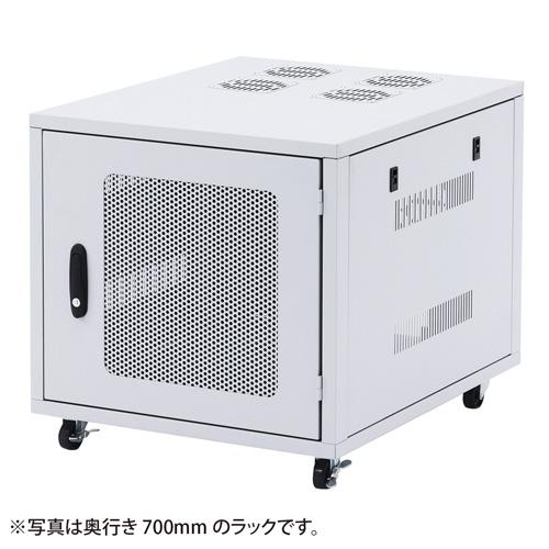 小型19インチサーバーラック(9U・D800mm) CP-SV2N サンワサプライ 【代引き不可商品】