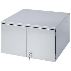 液晶・プラズマTVスタンド用セキュリティボックス(W547×D500mm) CR-PLBOX2N サンワサプライ 【代引き不可商品】