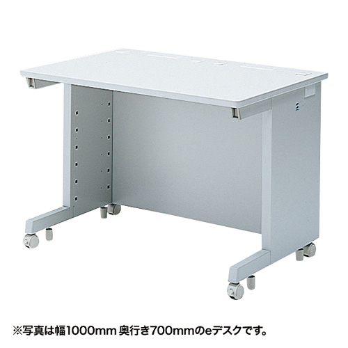 eデスク(Wタイプ・W1100×D500mm) ED-WK11050N サンワサプライ 【代引き不可商品】