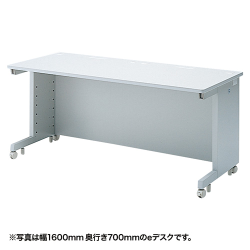 eデスク(Wタイプ・W1500×D800mm) ED-WK15080N サンワサプライ 【代引き不可商品】