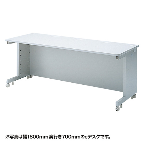 eデスク(Wタイプ・W1700×D600mm) ED-WK17060N サンワサプライ 【代引き不可商品】