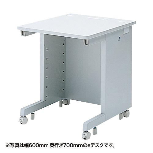 eデスク(Wタイプ・W600×D750mm) ED-WK6075N サンワサプライ 【代引き不可商品】