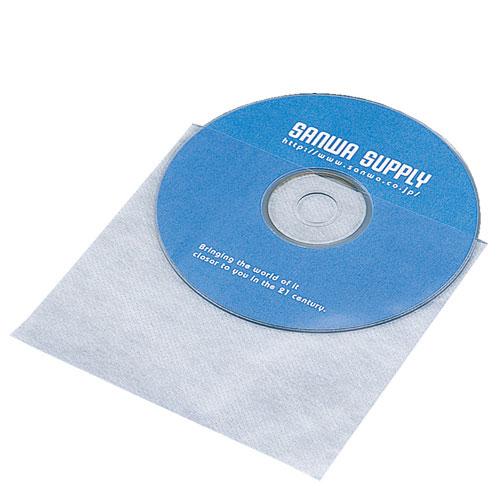 サンワサプライ FCD-F50 割引クーポン配布中 9 11 01:59まで 休み 50枚セット 省スペースに大量収納できるCD ホワイト ネコポス対応 DVD不織布ケース デポー
