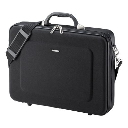 セミハードPCケース(15.6型ワイドまで対応・ブラック・ビジネス・通勤・バッグ・保護) BAG-EVA6BKN サンワサプライ