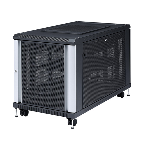 【訳あり 新品】19インチマウントサーバーラック(12U) ※箱にキズ、汚れあり CP-SVC12U サンワサプライ
