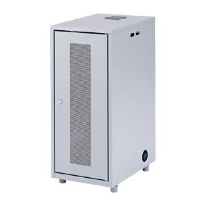 小型機器を省スペースで設置できるNAS・HDD・ネットワーク機器収納ボックス(H700mm) CP-KBOX3 サンワサプライ 【代引き不可商品】