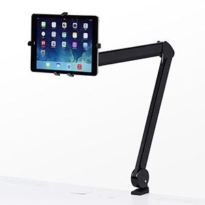 iPad・タブレットアーム(7~11インチ対応・クランプ) CR-LATAB13N サンワサプライ【送料無料】