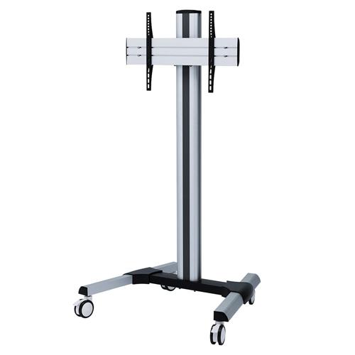 テレビスタンド デジタルサイネージ キャスター 移動式 昇降 縦置き 回転 オフィス テレビ会議 高さ調整 32から65インチ CR-PL51 サンワサプライ