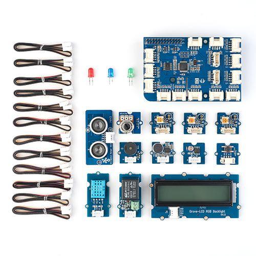 【割引クーポン配布中~4/16 01:59まで】Raspberry Pi用センサーキット GrovePi+ EZ8-RPSET1