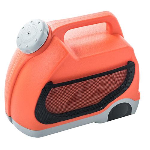 ポータブルウォッシャー(持ち運び・アウトドア・掃除・シャワー・車・シガーソケット・DC12V・洗車・ホース・6m) EEX-HPC01【送料無料】