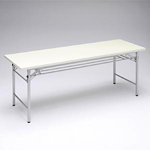 テーブル ミーティングテーブル 会議テーブル 折畳式 折りたたみ式 EED-FD007W【送料無料】