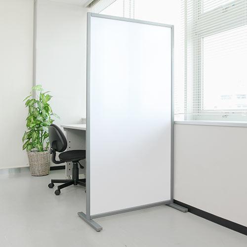 【ポイント10倍・割引クーポン配布中~4/16 01:59まで】パーティション オフィス半透明 幅80cm 高さ160cm  店舗 家庭でもご利用可能なパーテーション EED-SPT001