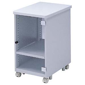 省スペースCPUをデスク下に2台設置できるCPUボックス(省スペースCPU用・扉付き) EA-CPU5 サンワサプライ 【代引き不可商品】