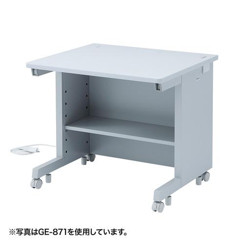 オフィスデスク GEデスク(W800×D800mm) GE-881 サンワサプライ 【代引き不可商品】【送料無料】