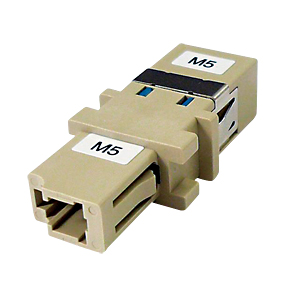 光ファイバケーブルを簡単に延長できる中継アダプタ(LCコネクタ-SCコネクタ・62.5ミクロン) HAD-LCSC-62 サンワサプライ