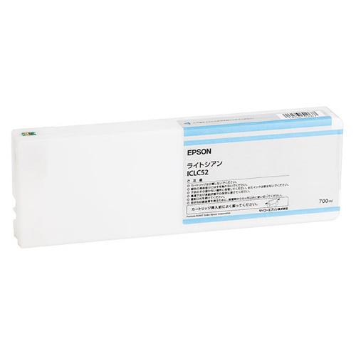 【エプソン純正インク】インクカートリッジ ライトシアン ICLC52 【受注発注品】