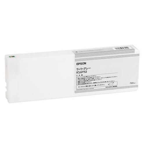 【エプソン純正インク】インクカートリッジ ライトグレー ICLGY52 【受注発注品】