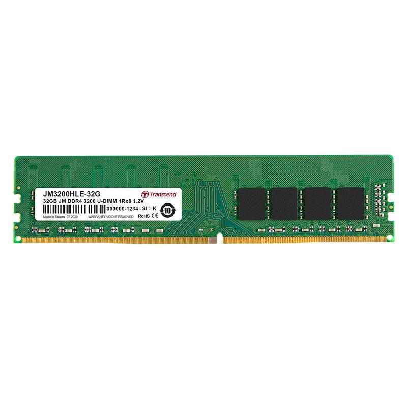デスクトップ用メモリ Transcend 32GB DDR4 3200 U-DIMM 2Rx8 JM3200HLE-32G サンワサプライ【ネコポス対応】
