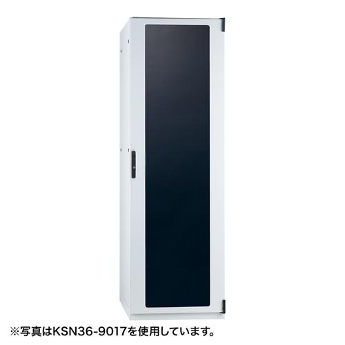 ネットワークサーバーラック(42U・W700×D1000×H2000mm) 【代引き不可商品】 KSN42-1020W サンワサプライ