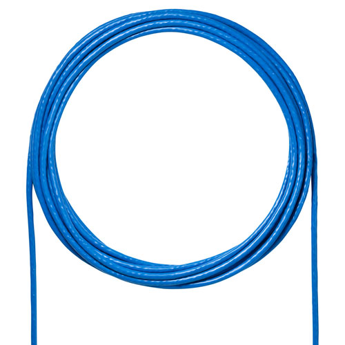 【訳あり 新品】カテゴリ6A LANケーブルのみ ブルー 300m KB-T6A-CB300BL サンワサプライ ※箱にキズ、汚れあり