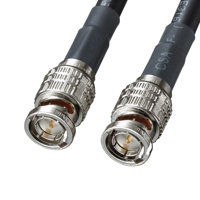 12G-SDIケーブル 4K対応 3m KM-12SDI03 サンワサプライ