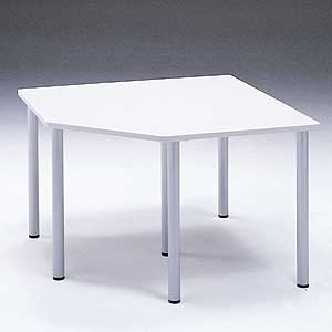 MEデスク用コーナーテーブル(D600デスク用)(受注生産) MEA-CT6 サンワサプライ 【代引き不可商品】