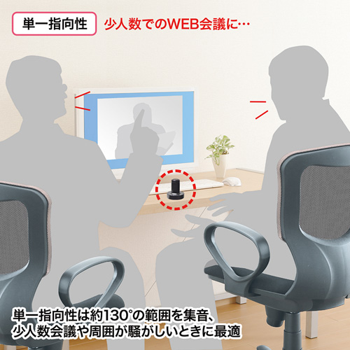 WEB会議高感度USBマイク MM-MCUSB30 サンワサプライ