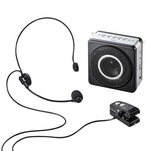 拡声器 ワイヤレス 18W ヘッドマイク イベント講演 選挙 MM-SPAMP5