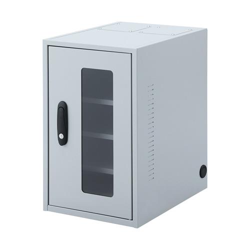 ネットワーク機器収納ボックス(防塵・簡易・鍵付き・NAS・HDD・W300)【配達時間指定不可】【代引き不可商品】 MR-FAKBOX300 サンワサプライ