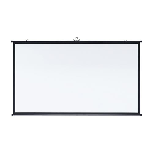 プロジェクタースクリーン壁掛け式(アスペクト比16:9・80型相当) フルHD対応 PRS-KBHD80 サンワサプライ
