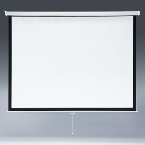 【訳あり 新品】プロジェクタースクリーン(103型・吊り下げ式) ※箱にキズ、汚れあり PRS-TS103 サンワサプライ