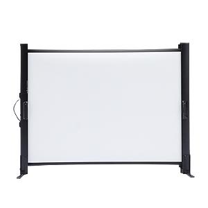 【訳あり 新品】プロジェクタースクリーン(40型相当)モバイルスクリーン ※箱にキズ、汚れあり PRS-M40 サンワサプライ