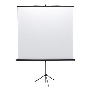 【訳あり 新品】プロジェクタースクリーン(三脚式)(90型相当) ※箱にキズ、汚れあり PRS-S90 サンワサプライ