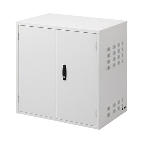 セキュリティラック(鍵付き・パソコン、ディスプレイ) RAC-SL2 サンワサプライ 【代引き不可商品】