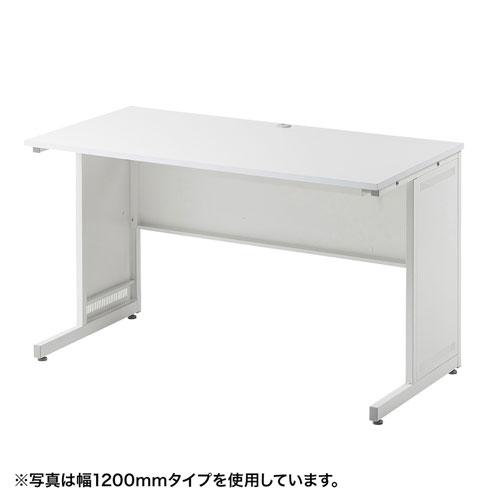 【訳あり 新品】デスク(SH-Bシリーズ/W1400×D600mm) ※箱にキズ、汚れあり SH-B1460 サンワサプライ