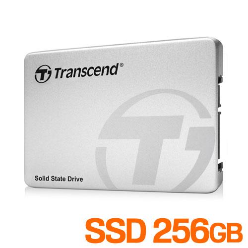 【Transcend】 256GB 2.5インチ SATAIII SSD TS256GSSD370S