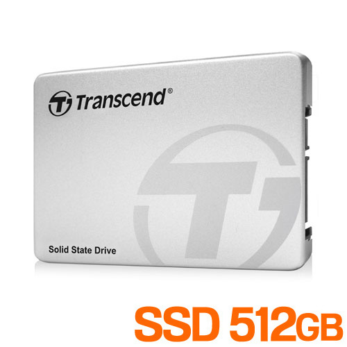 【割引クーポン配布中~4/16 01:59まで】【Transcend】 512GB 2.5インチ SATAIII SSD TS512GSSD370S