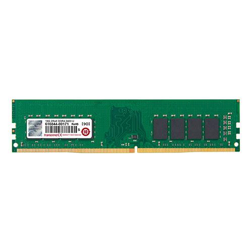 Transcend 増設メモリ 16GB DDR4-2400 PC4-19200 DIMM TS2GLH64V4B【ネコポス対応】