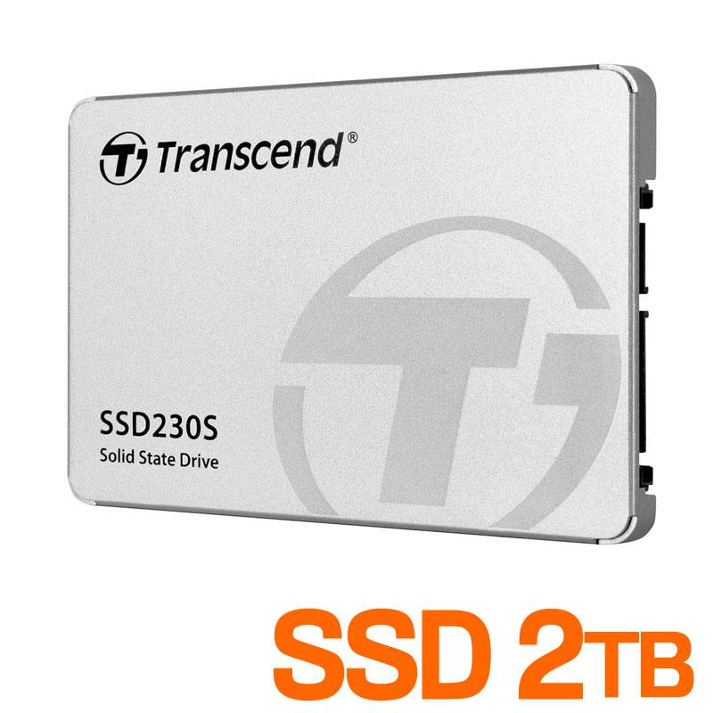 SSD 2TB Transcend 2.5インチ SATAIII TS2TSSD230S サンワサプライ【ネコポス対応】