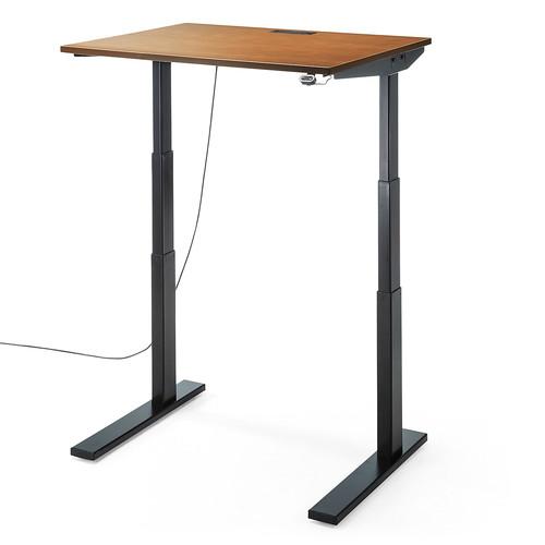 スタンディングデスク(電動上下昇降式デスク・木目・幅90cm・奥行80cm・座り過ぎ解消・障害物検知機能付・低ホルムアルデヒド) EZ1-ERD003M
