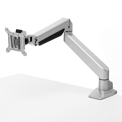 モニタアーム(水平垂直・3関節・ガス圧・8kgから20kgまで対応・1画面) EZ1-LA050