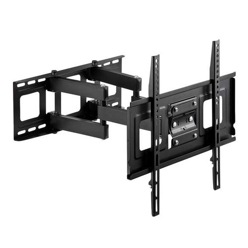 テレビ壁掛け 金具 液晶テレビ壁掛け ダブルアームタイプ 汎用 32~52インチ対応 前後 角度 左右調節 コーナー設置対応 EZ1-PL005