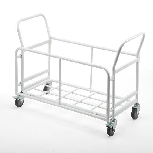 折りたたみ椅子用台車(移動・収納・キャスター付き)